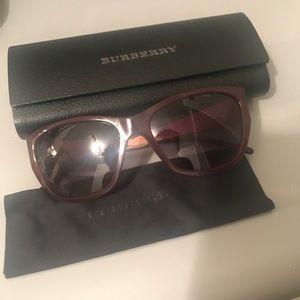 Woman's Burberry sunglasses
